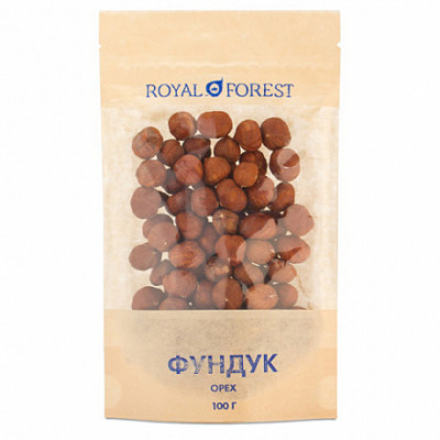 Фундук Royal Forest 100гр.